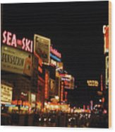 Time Square 1956 Wood Print