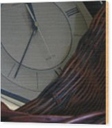 Time Standing Still Wood Print