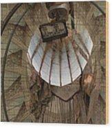 Time Traveler Wood Print