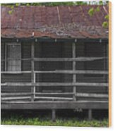 Time Worn Homestead Wood Print