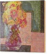 Timeless - Flowers Wood Print