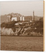 Timeless Alcatraz Wood Print