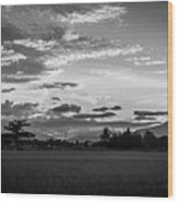 Timeless Sunsets Wood Print