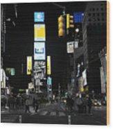 Times Square New York City Big Apple Wood Print