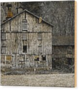 Tin Cup Chalice Rustic Barn Wood Print