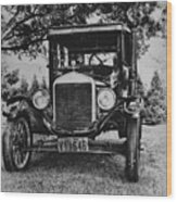 Tin Lizzy - Ford Model T Wood Print