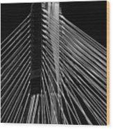 Ting Kau Bridge Hong Kong Wood Print