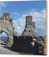 Tintagel Castle 2 Wood Print