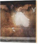 Tiny Angel Wood Print