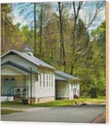 Tip Top Baptist Church Wood Print