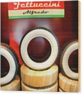 Tires New White Wall 50's  Wood Print