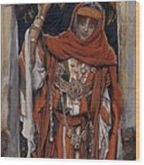 Tissot Mary Magdelane Before Her Conversion Jacques Joseph Tissot Wood Print