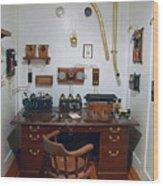 Titanic Communications Wood Print