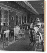 Titanic: Parisian Cafe, 1912 Wood Print by Granger