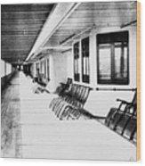 Titanic: Promenade Deck Wood Print