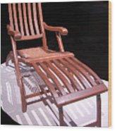 Titanic Teak Lounge Wood Print