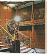 Titanics Grandeur Wood Print