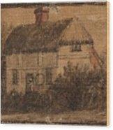 Title A Cottage Wood Print
