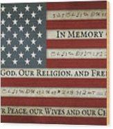 Title of Liberty Wood Print