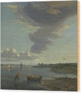Title The Thames Below Woolwich Wood Print