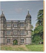Tixall Gatehouse Wood Print