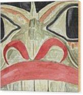 Tlingit Clan Beaver Wood Print