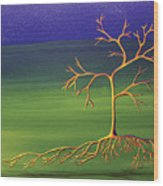 To Become A Seed Again Wood Print