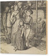 To Caper Nimbly In A Lady's Chamber To The Lascivious Pleasing Of A Lute Wood Print