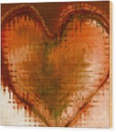 To Heart Wood Print