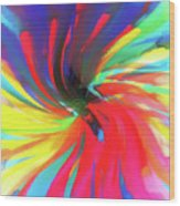 To Spring Up Wood Print