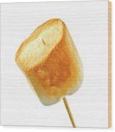 Toasted Marshmallow Wood Print