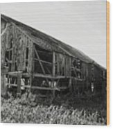 Tobacco Barn 1 Wood Print