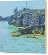 Tobacco Bay, Bermuda # 4 Wood Print