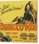 Tobacco Road, Charley Grapewin, Aka Wood Print by Everett