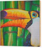 Toco Toucan Wood Print