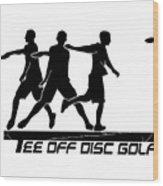 Todg Black Logo Wood Print
