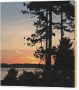 Tofino Sunset IIi Ss 1031 Wood Print