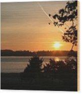 Tofino Sunset Ss1027 Wood Print