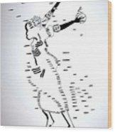 Togo Atsiagbekor Dance Wood Print
