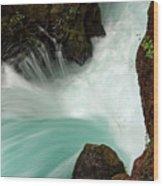Toketee Falls 3 Wood Print