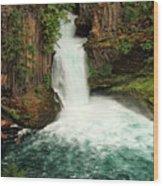 Toketee Falls 4 Wood Print