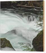 Toketee Falls 7 Wood Print