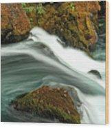 Toketee Falls 8 Wood Print