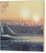 Tokyo 3017 Wood Print