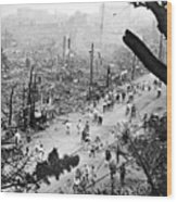 Tokyo Earthquake, 1923 Wood Print