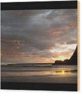 Tolaga Bay Pier II Wood Print