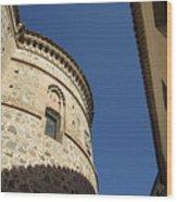 Toledo Castle II Wood Print