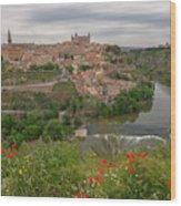 Toledo City, Spain Wood Print