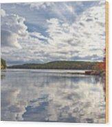 Tolland Lake Two Wood Print