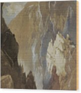 Toltec Gorge And Eva Cliff From The West, Colorado, 1892 Wood Print
